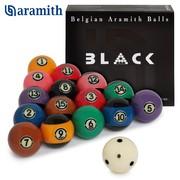 Шары Aramith Tournament Pool Black TV 57,2 мм
