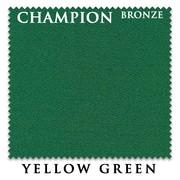 Сукно Champion Bronze 195 см Yellow Green