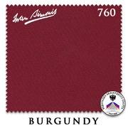Сукно Iwan Simonis 760 195см Burgundy