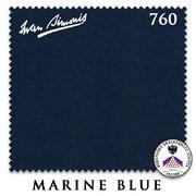 Сукно Iwan Simonis 760 195см Marine Blue
