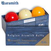 Шары Aramith Tournament Champion Snooker ø52,4мм 3шара