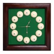 Часы Fortuna Бильярд SR4666 коричневые
