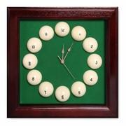 Часы Fortuna Бильярд SR4665 махагон