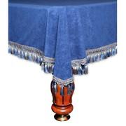 Покрывало Венеция шёлк синее