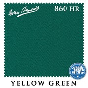 Сукно Iwan Simonis 860 860HR 198см Yellow Green