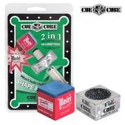 Инструмент для обработки Cue Cube с мелом